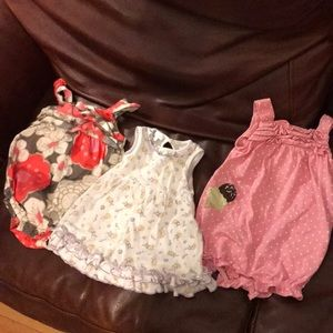 Other - Dress and Romper Bundle